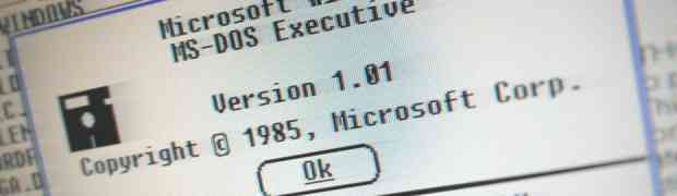 Microsoft Windows was launched 30 years ago today